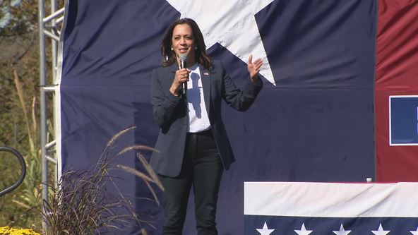 Senator Kamala Harris makes stop in Fort Worth during her trip to Texas