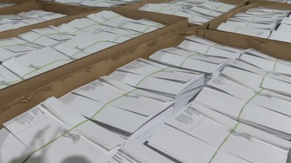 Dallas County caught up with backlog of mail-in ballot requests, county official says