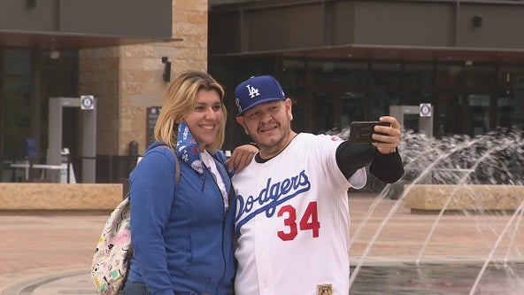 Dodgers, Rays fans converge at Globe Life Field for Game 1 of World Series
