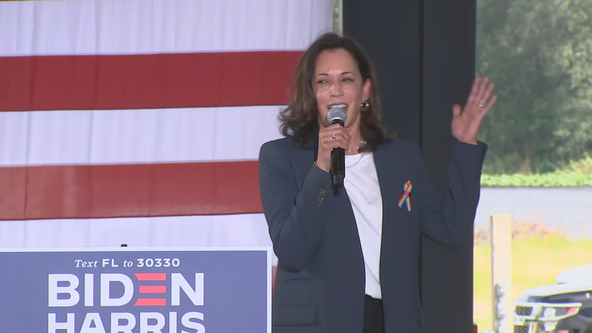 Senator Kamala Harris visits North Texas Friday