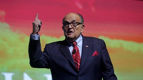 Rudy Giuliani caught in hotel bedroom scene in new 'Borat' film