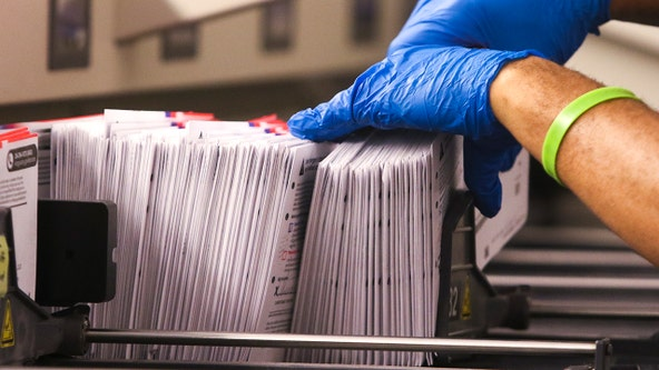 Dallas County still working to send out thousands of mail-in ballots