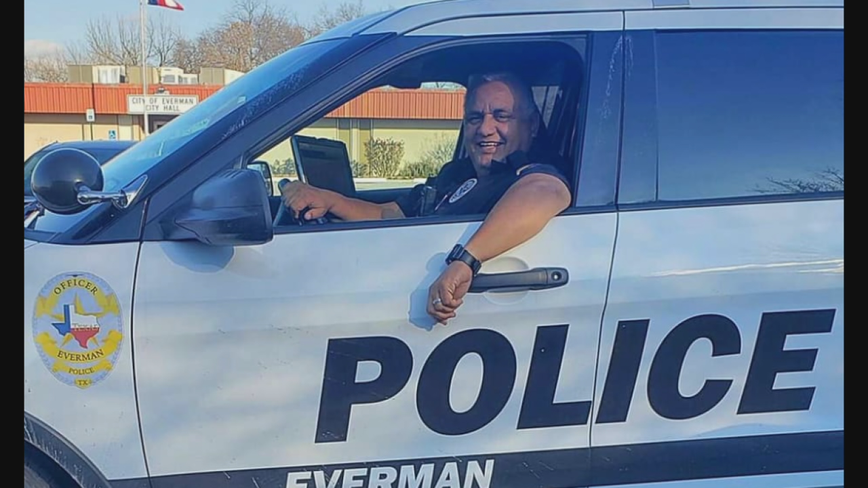 Everman police officer Alex Arango dies because of COVID-19