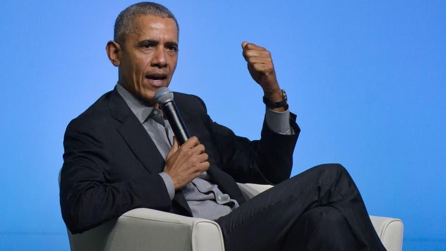 Barack Obama campaigns for Joe Biden in Philadelphia with drive-in rally