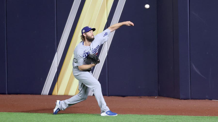 Dodgers beat Rays after solid Kershaw outing in World Series Game 5