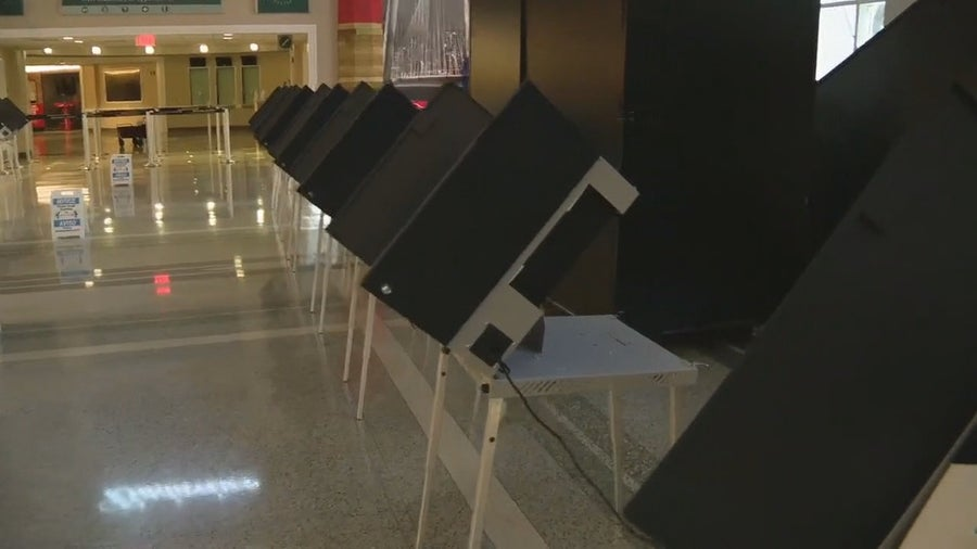 North Texas counties seeing large early voting turnout