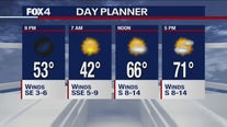 Nov. 25 evening forecast