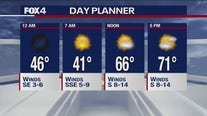 Nov. 25 overnight forecast