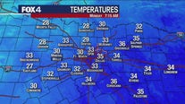 Parts of North Texas get 1st freeze of the season Monday morning