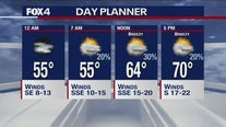 Nov. 23 overnight forecast