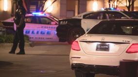 2 men shot after car crash near Uptown Dallas