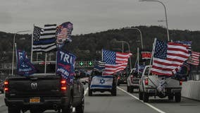 'Trump Train' blocks traffic on major roadways in NY, NJ