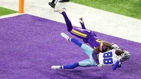 Dalton's 3 TDs lifts Cowboys past Vikings 31-28