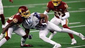 Washington rolls past Cowboys 41-16 on Thanksgiving