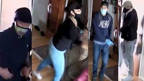 4 suspects wanted for Mesquite home invasion robbery