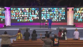 The Potter's House Church adds virtual congregation option for those watching services at home
