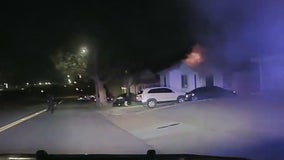 Lake Worth officers save sleeping family from house fire