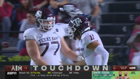 No. 7 Texas A&M, Kellen Mond throttle South Carolina 48-3