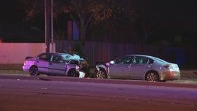 1 dead, 1 injured in wrong-way crash in Richardson