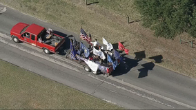 North Texas celebrates Veterans Day with several drive-by parades and events