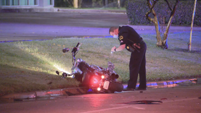Dallas police searching for hit-and-run driver in fatal motorcycle crash