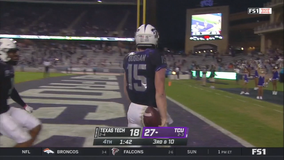 TCU wins 34-18 over Texas Tech to end 5-game skid at home