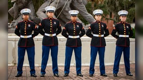 5 sisters from two families graduate Marine Corps training together