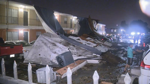 Significant damage in Arlington after tornado hits Tuesday night