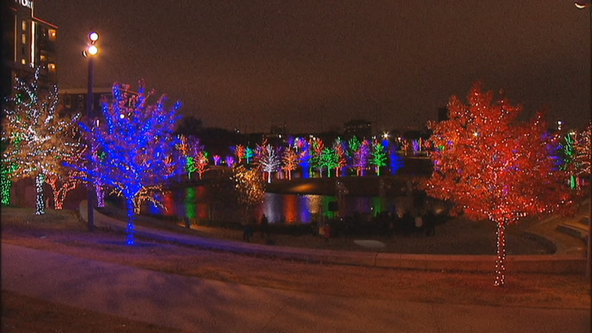 Vitruvian Lights display opens in Addison Friday night