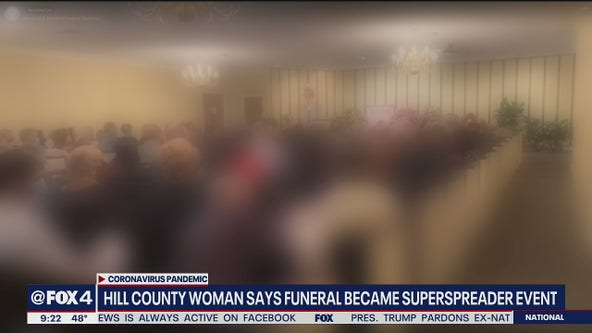 Texas funeral becomes 'super spreader' event after 40 people contract COVID-19