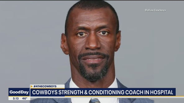 Cowboys' strength coach Markus Paul hospitalized