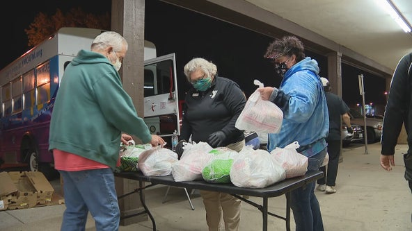 North Texas food pantries struggling to keep up with demand ahead of Thanksgiving