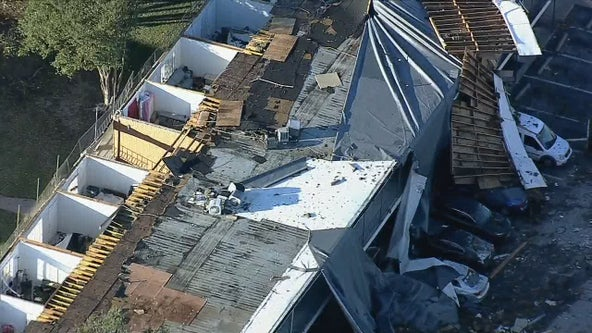 Significant damage in Arlington after EF-2 tornado hits Tuesday night