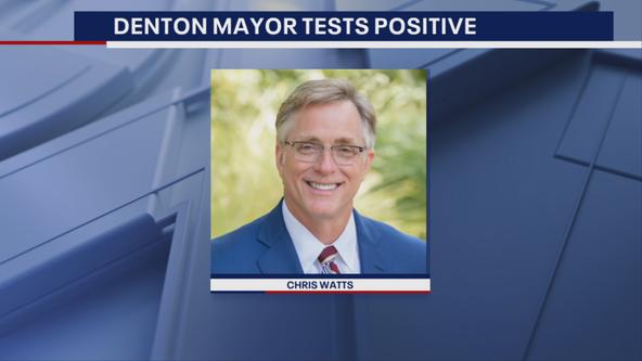 Denton Mayor Chris Watts tests positive for COVID-19