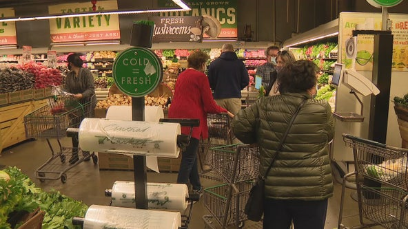 North Texas grocery stores noticeably busy ahead of Thanksgiving