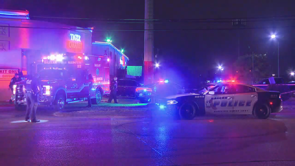 2 men shot outside Dallas strip club