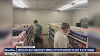 Student-run grocery store in Sanger accepts good deeds as payment