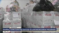 Some Toys for Tots donations go to law enforcement programs