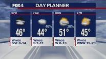 Nov. 1 evening forecast