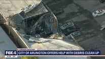 Arlington residents continue tornado cleanup with city's help