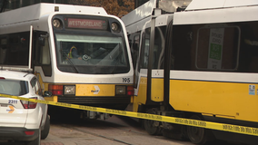 2 injuries reported after DART trains make contact
