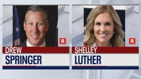 Early voting begins in Texas Senate runoff between Drew Springer, Shelley Luther
