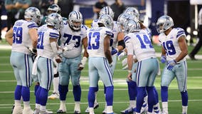 Cowboys beat Eagles 37-17, stay alive with Washington loss