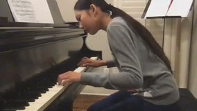 McKinney 12-year-old uses time at home during pandemic to perfect piano skills