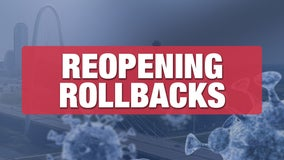 Reopening rollbacks start in North Texas after COVID-19 hospitalizations stay above 15% for 7th straight day