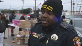 Fort Worth deputy marshal organizes toy giveaway