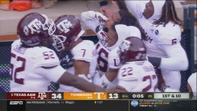 No. 5 Texas A&M makes last CFP case in 34-13 win vs. Vols
