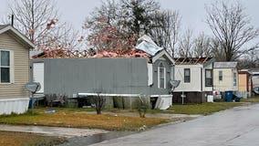 Tornado damages more than a dozen homes in Corsicana