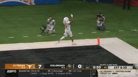 Texas overcomes Ehlinger injury, routs Colorado 55-23