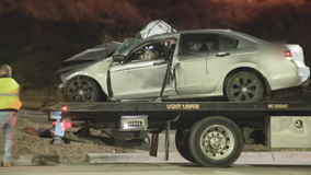 Driver in critical condition after crashing into tree in West Dallas
